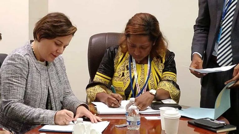 At UNGA, Deputy Minister of Finance Signs $15M MOU to Implement integrated Credit Bureau