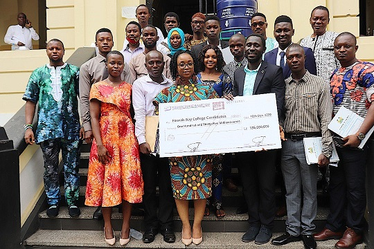 Finance Ministry  Awards Le 205m Grant to Students for Thesis facilitation